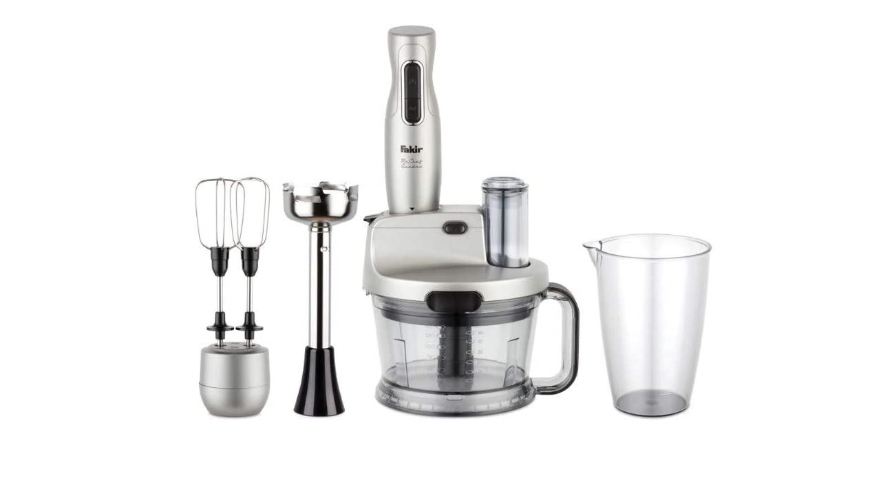 Fakir Mr. Chef Quadro Blender Set Silver Stone