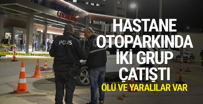 Adana'da hastane otoparkında münakaşa: 1 ölü 2 yaralı