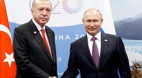 Putin 2018'de en çok Cumhurbaşkanı Erdoğan'la görüştü
