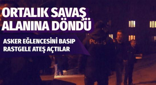 Bursa'da asker cümbüşü savaş alanına döndü