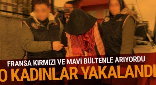 Bursa'da DEAŞ işlemi 2'si Fransız bayan 12 şahıs nezaretine alındı