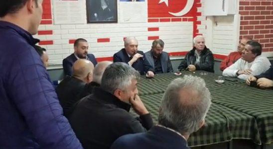 CHP'li aza tasasını Mevlüt Uysal'a anlattı