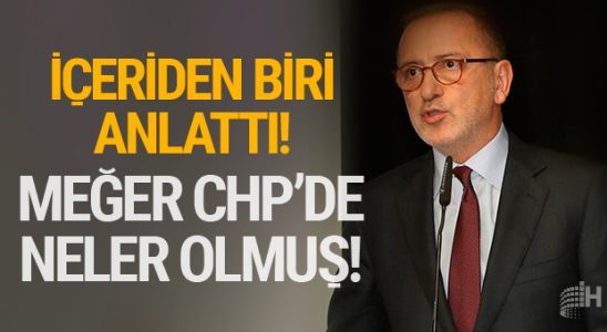 CHP'li yetkili Fatih Altaylı'ya anlattı! CHP darmaduman