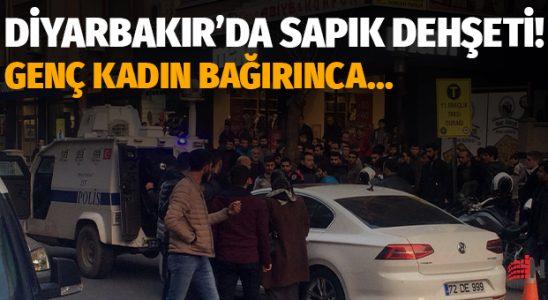 Diyarbakır'da sapık korkuyu: Genç bayan haykırınca linç ediliyordu!