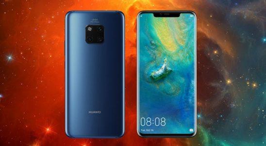 Huawei Mate 20 Pro'yla DxOMark Skorunda Rekorunu Egale Etti
