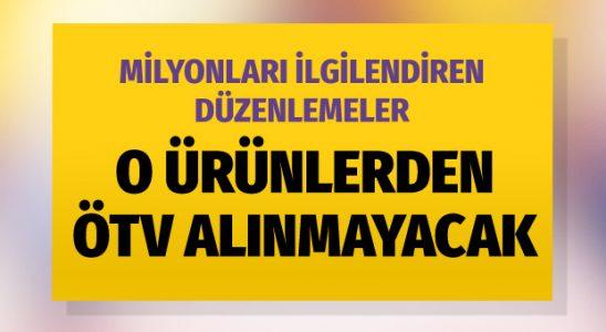 O mahsullerden ÖTV alınmayacak! Yasa öneriyi Meclis'ten geçti