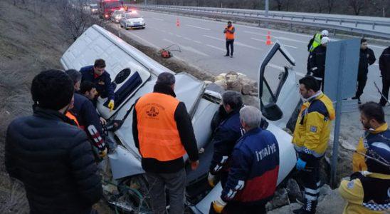 Polis memuru acı haberi veremedi! Çorum'da feci kaza