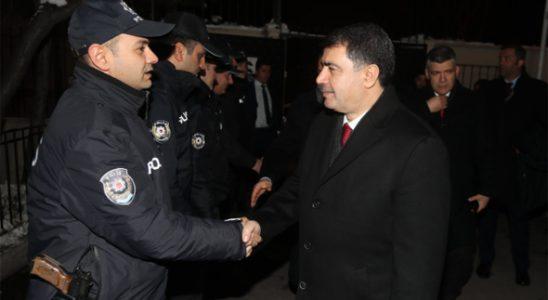 Vali Vasip Şahin'den yılbaşı ziyareti