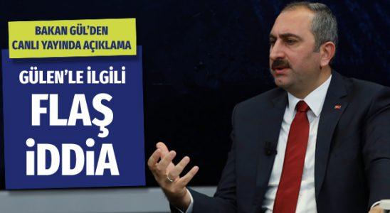 Abdulhamit Gül'den Gülen Mısır'a kaçacak söylemesi