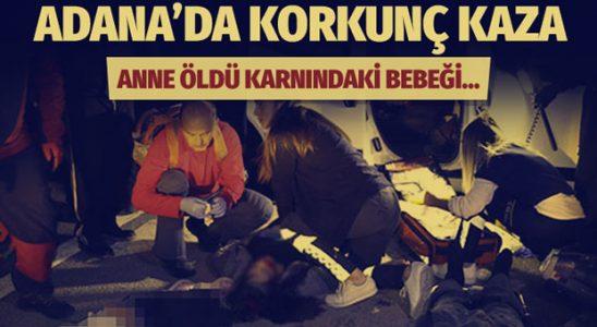 Adana'da otobüs ile ticari vasıta çarpıştı! Ölüler ve yaralılar var