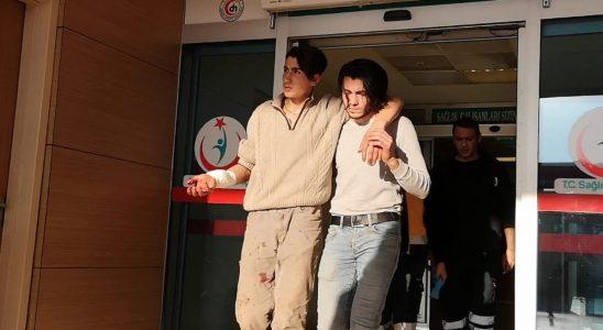 Bursa'da testereli saldırgan korkuyu!