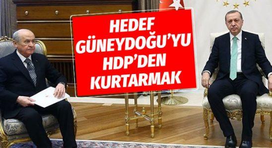 Cumhur İttifakı'nda ortak niyet: Güneydoğu'yu HDP'den kurtarmak