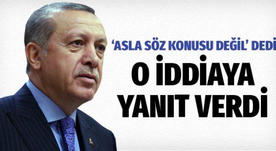 Cumhurbaşkanı Erdoğan'dan Kılıçdaroğlu'nun iddiasına cevap