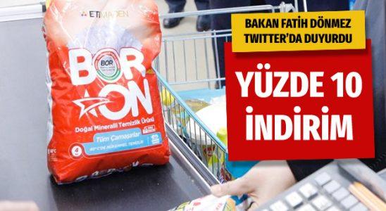 Fatih Dönmez müjdeyi verdi: Yüzde 10 indirimli satılacak