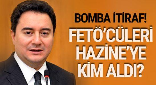 FETÖ maznunlardan Ali Babacan itirafı! FETÖ'cüleri Hazine'ye kim aldı?