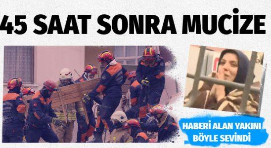 Kartal'da mucize! 16 yaşındaki Mert Aydın 45 saat sonra sağ kurtarıldı
