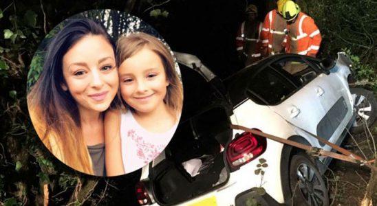 Kaza Yapan Anne ve Kızı, Snapchat Sayesinde Kurtuldu