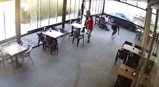 Kovulduğu kafedeki 4 bireyi vurdu! O anlar kamerada