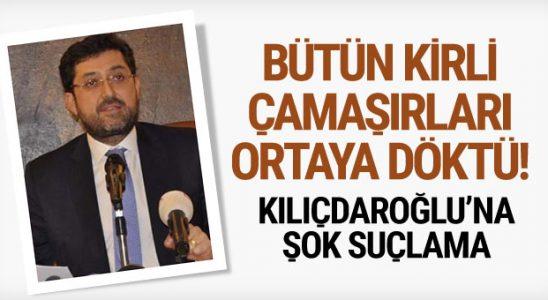 Murat Veznedar CHP'nin tam lekeli çamaşırlarını ortaya döktü