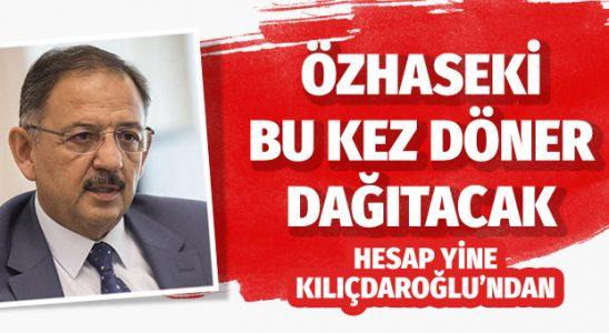 Özhaseki Kılıçdaroğlu'ndan kazandığı para ile döner dağıtacak