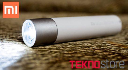 Xiaomi'den Kamp Yapanların Favorisi Olacak Mahsul: El Fenerli Powerbank