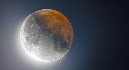 NASA'nın Paylaştığı, Ay Yakalanması Sırasında Çekilmiş Büyüleyici Görüntü