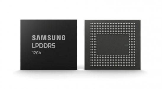 Samsung, 12 GB'lık LPDDR5 Mobil DRAM'lerin İmaline Başladı