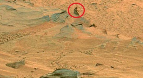 Curiosity, Mars'ın Mona Lisa'sını Fotoğrafladı