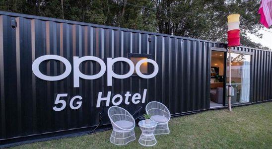 Oppo, Dünyanın İlk 5G Konteyner Otelini Açtı
