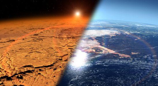 Bir Zamanlar Mars'ın Yüzeyi Tıpkı Dünya'daki Gibi Ummanlarla Kaplıymış