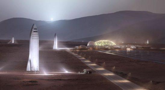 SpaceX, Mars Ziyareti İçin Şimdiden İniş Yeri Aramaya Başladı