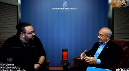 Kemal Kılıçdaroğlu, Twitch Yayınında Jahrein'in Sorularını Yanıtladı