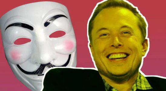 Elon Musk'tan, Anonymous'un Tehdit İçerikli Videosunu Dikkate Almadığını Gösteren 'Gülücüklü' Emoji