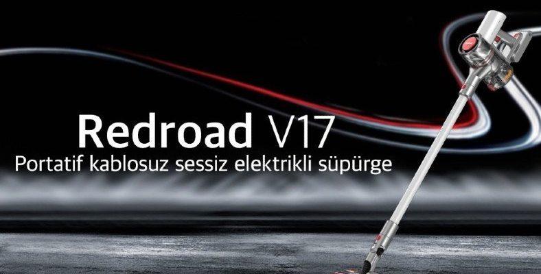 Havadaki Tozun %99'unu Yakalayabilen Elektrikli Süpürge: RedRoad V17