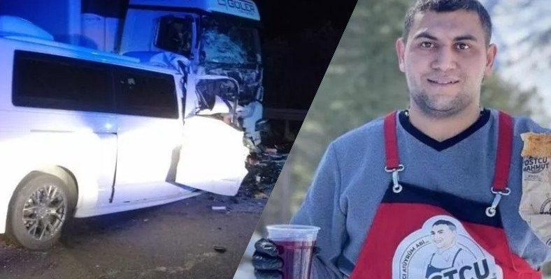 206 Km/s Hızla Giderken Instagram'da Hikaye Atan Sosyal Medya Fenomeni Tostçu Mahmut, Trafik Kazasında Hayatını Kaybetti