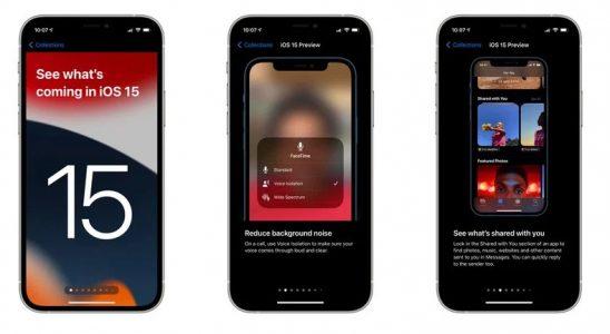 Apple, iPhone 13'ü Beklemeden iOS 15 Özelliklerini Göstermeye Başladı