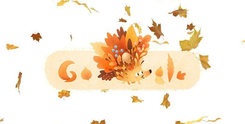 Google'dan Sonbaharın Geldiğini İlan Eden 23 Eylül Ekinoksu İçin Özel Doodle