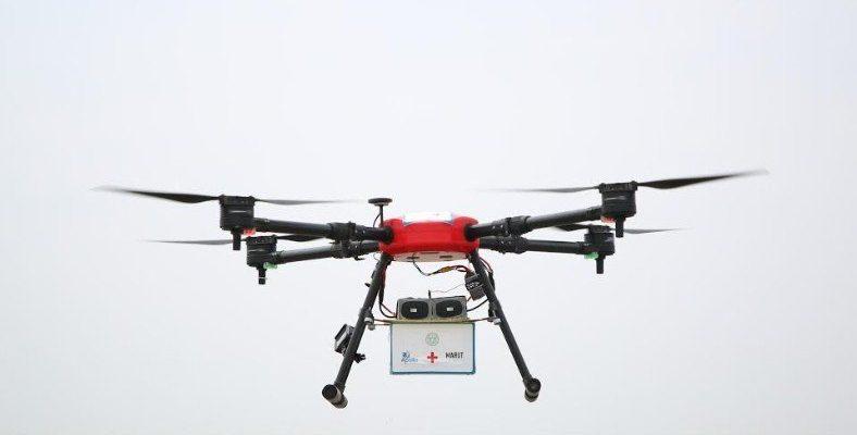 Hapishaneye Uyuşturucu Taşıyan Bir Drone, Yönünü Şaşırıp Okul Bahçesine Düştü