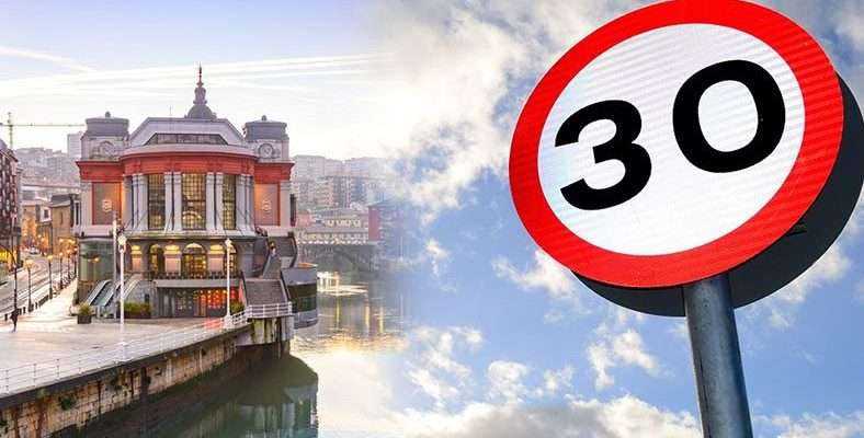 İspanyol Şehri Bilbao'da Bir Yılda Sadece Şehir İçi Hız Limitini Düşürülerek Hava Kalitesi Artırıldı