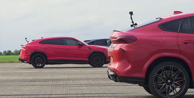 Porsche, Lamborghini, BMW, Jeep ve Tesla Bir Bara Girmiş: Performans SUV'larının Drag Yarışı [Video]